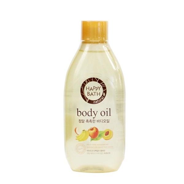 Увлажняющее масло для тела Happy Bath Natural Body Oil Real Moisture 250 мл (8801042471009)