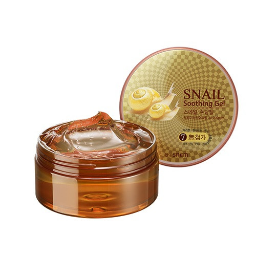 Успокаивающий крем-гель для тела The Saem Snail Soothing Gel 300 мл (8806164120606)