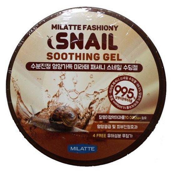 Увлажняющий гель для тела с улиточной слизью Milatte Fashiony Snail Soothing Gel 300 мл (8809535260086)