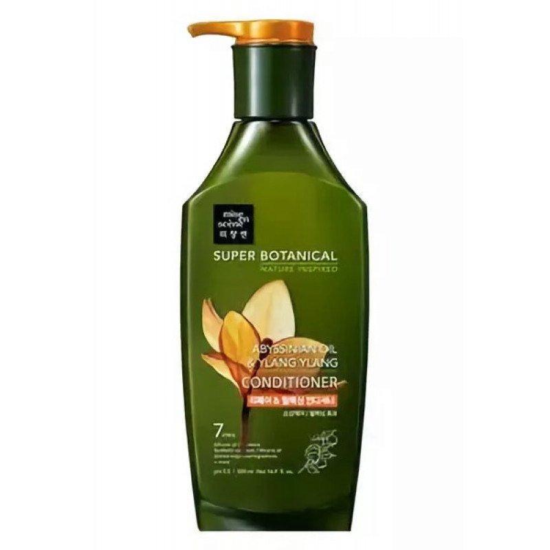 Восстанавливающий кондиционер для волос с абиссинским маслом Mise en Scene Super Botanical Abyssinian Oil & Ylang Conditioner (8809559361233)
