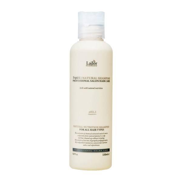 Органический шампунь с растительными экстрактами La'dor Triplex Natural Shampoo 150 мл (8809500811008)