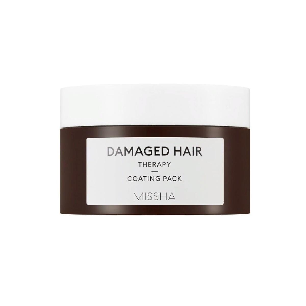 Маска для восстановления поврежденных волос Missha Damaged Hair Therapy Coating Pack 200 мл (8809581451643)
