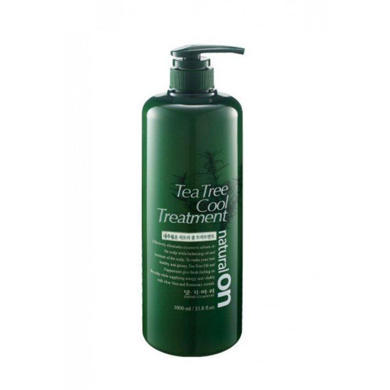 Охлаждающий кондиционер для волос на основе чайного дерева Daeng Gi Meo Ri Naturalon Tea Tree Cool Treatment (8807779089333)