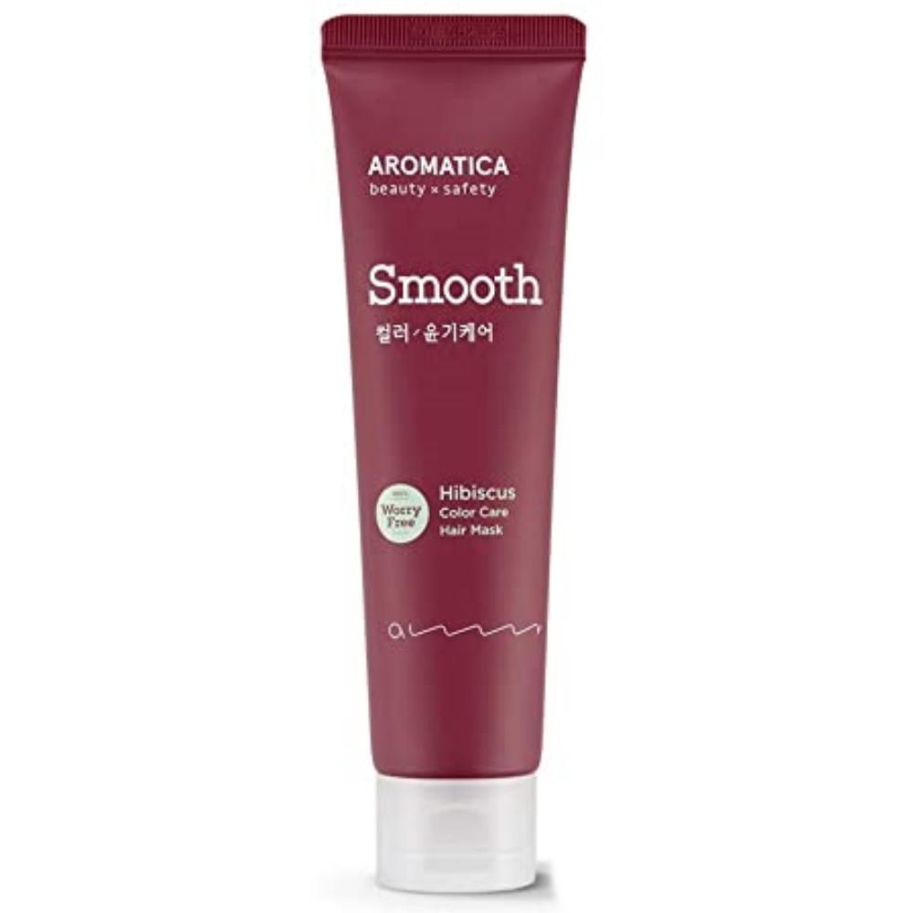 Маска для окрашенных волос с защитой цвета Aromatica Hibiscus Color Protection Leave-in Hair Mask 110 мл (8809151131449)