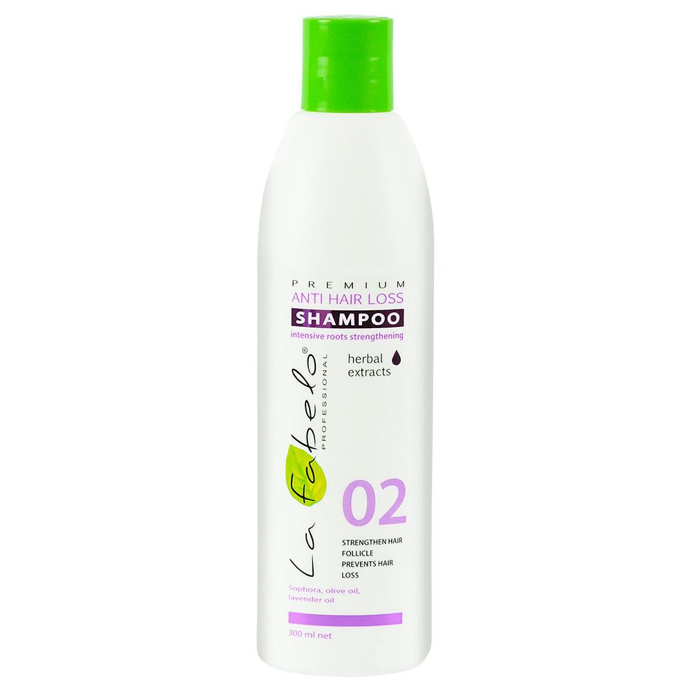 Шампунь против выпадения волос La Fabelo Premium 02 Anti Hair Loss Shampoo 300 мл (01490101801)
