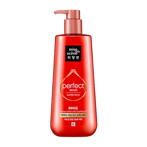 Кондиционер-маска для восстановления волос Mise en Scene Perfect Serum Rinse Surer Rich 680 мл (8809516839928)