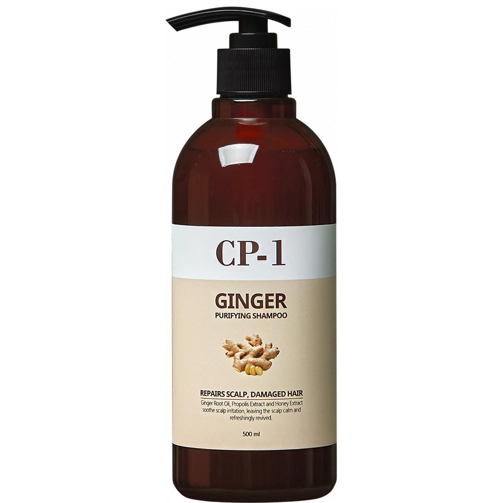Очищающий шампунь для волос с имбирем Esthetic House CP-1 Ginger Purifying Shampoo 500 мл (8809450012005)