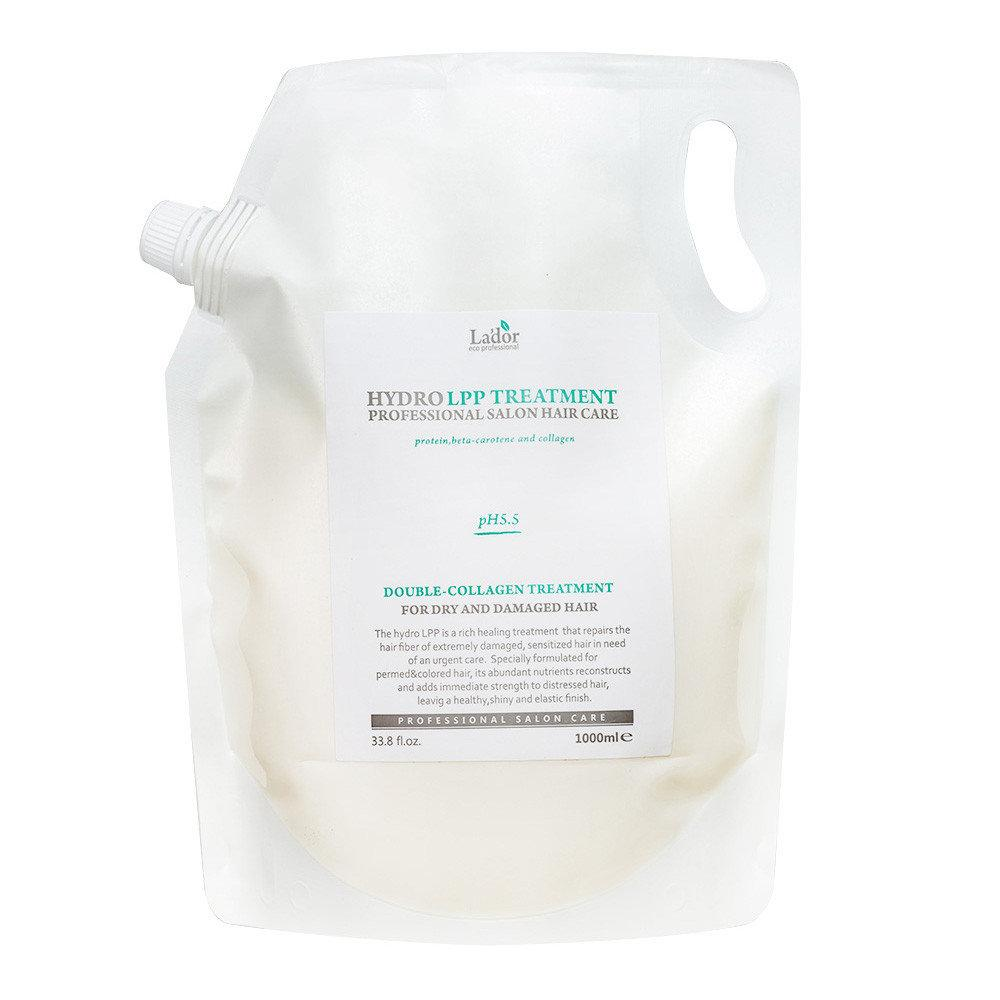 Экстра-восстанавливающая маска для повреждённых волос La'dor Eco Hydro LPP Treatment 1000 мл (8809500810766)
