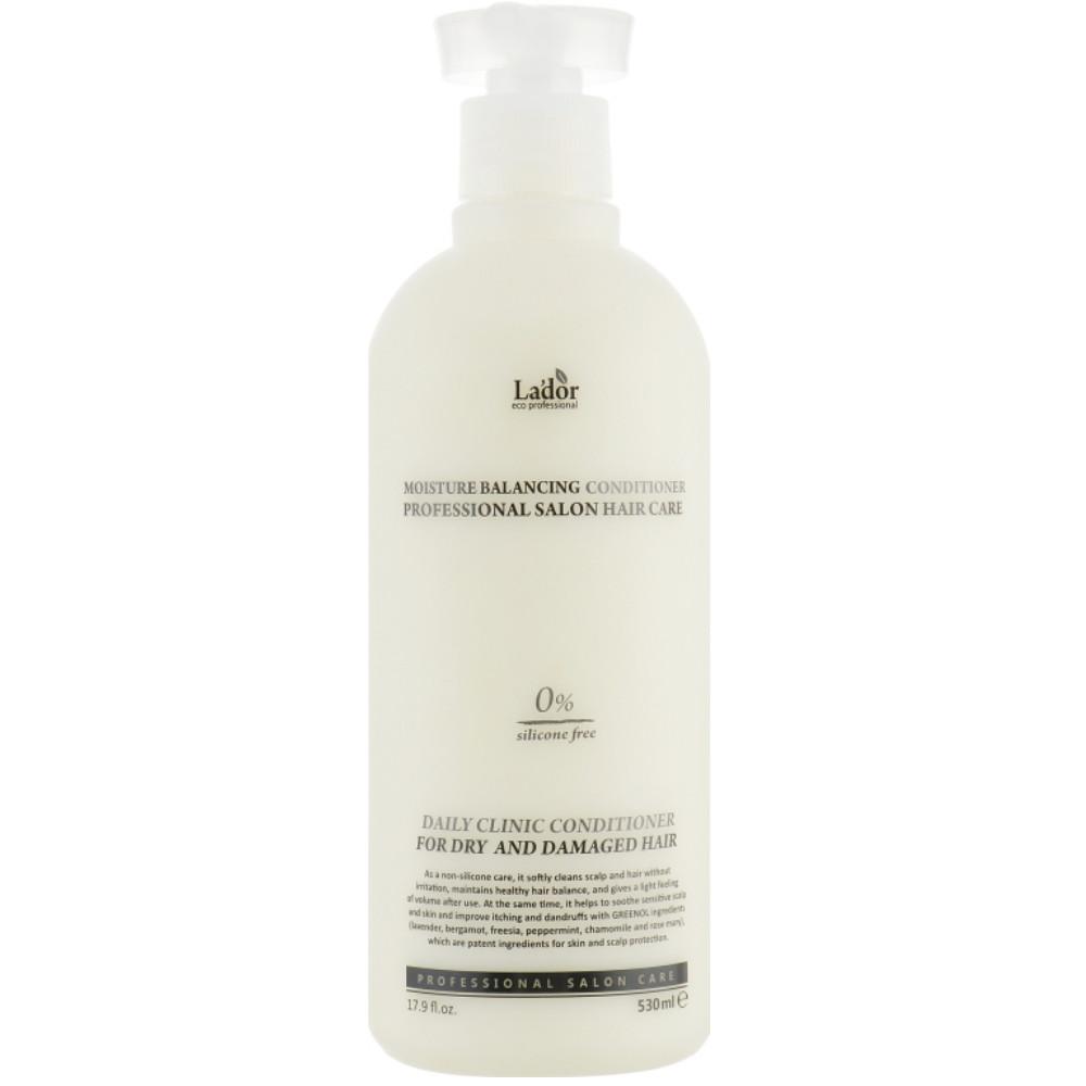 Увлажняющий кондиционер для восстановления поврежденных волос La'dor Moisture Balancing Conditioner 530 мл (8809500810612)