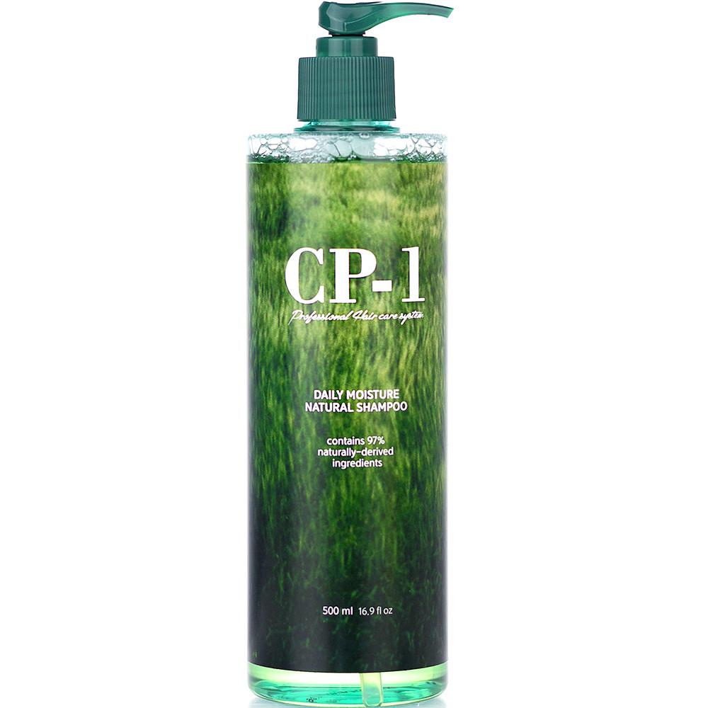Натуральный бессульфатный шампунь для всех типов волос Esthetic House CP-1 Daily Moisture Shampoo 500 мл (8809450010421)
