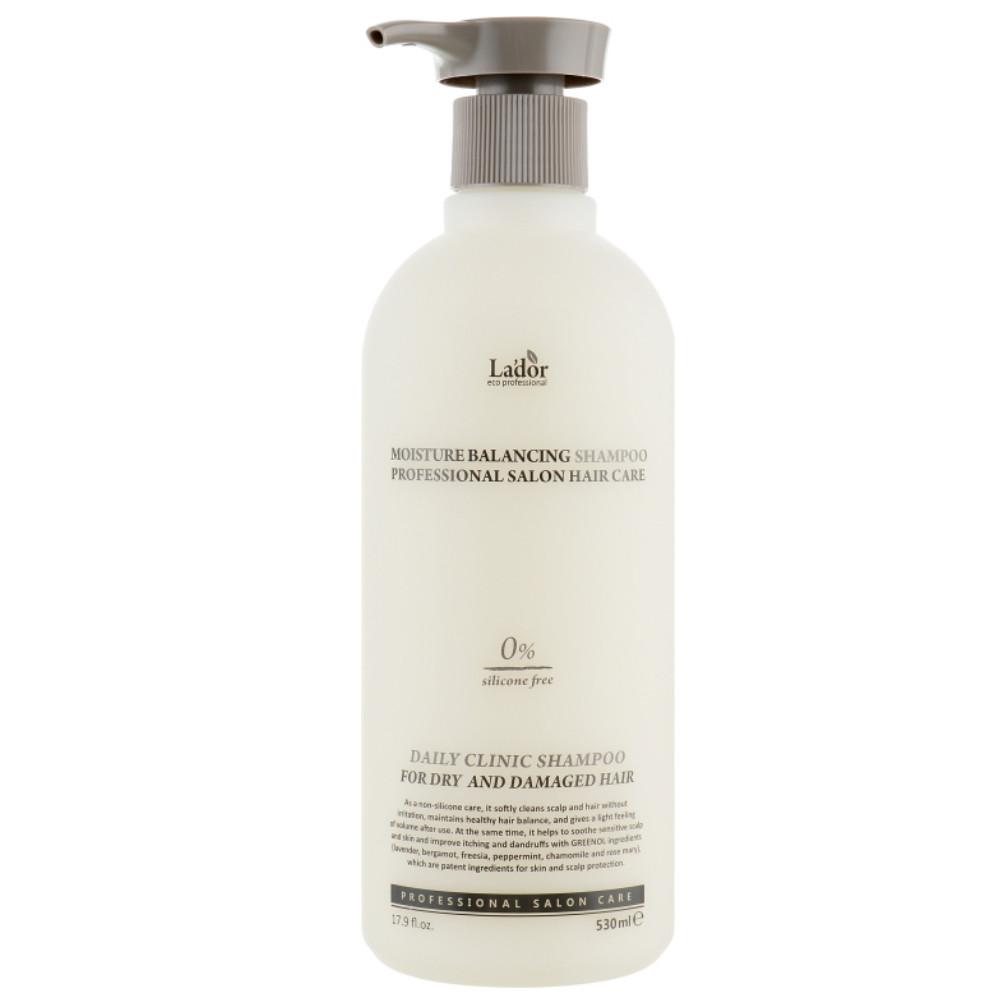 Увлажняющий шампунь для волос La'dor Moisture Balancing Shampoo 530 мл (8809500810889)