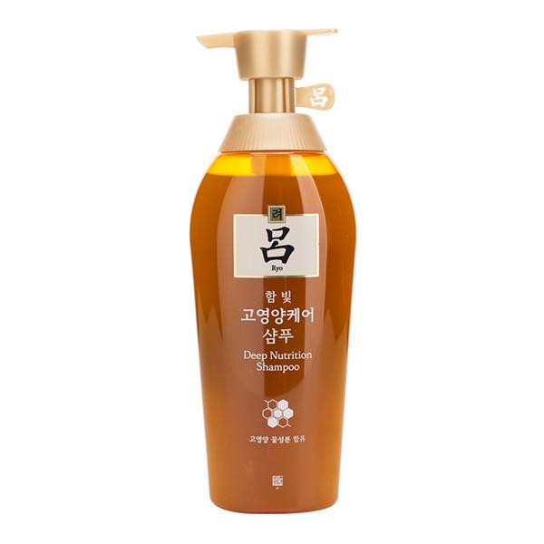 Питательный шампунь для сухих волос Ryo Deep Nutrition Shampoo 500 мл (8809539420271)