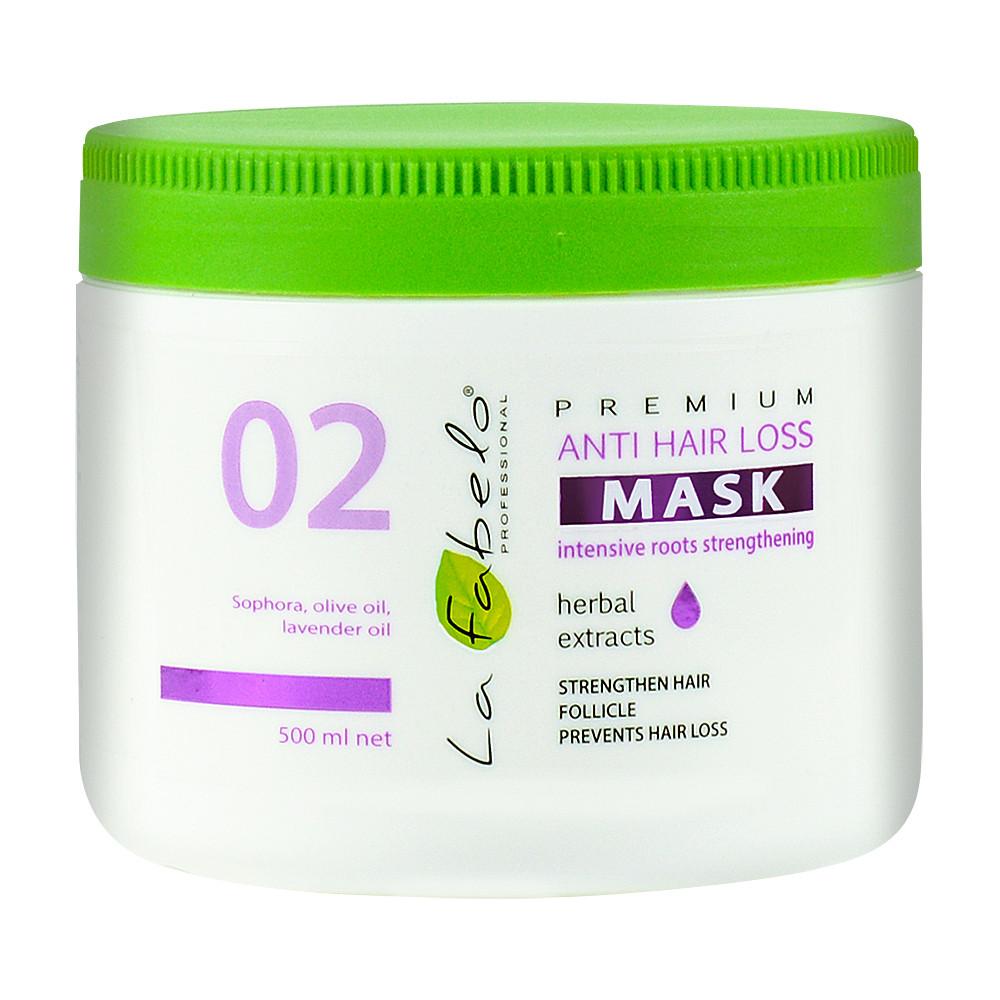 Маска против выпадения волос La Fabelo Premium 02 Anti Hair Loss Mask 500 мл (01490101601)