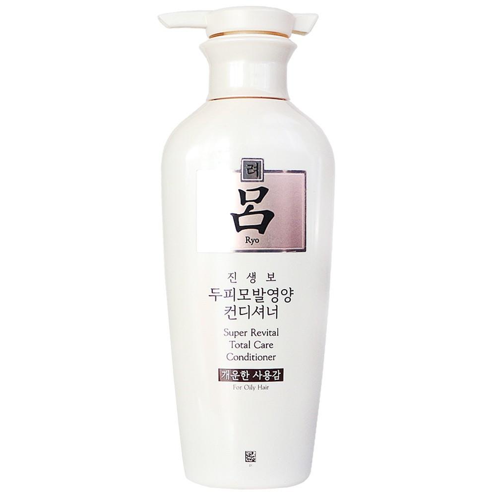 Кондиционер от выпадения волос Ryo Super Revital Total Care Conditioner For Oily Hair 400 мл (8801042685581)