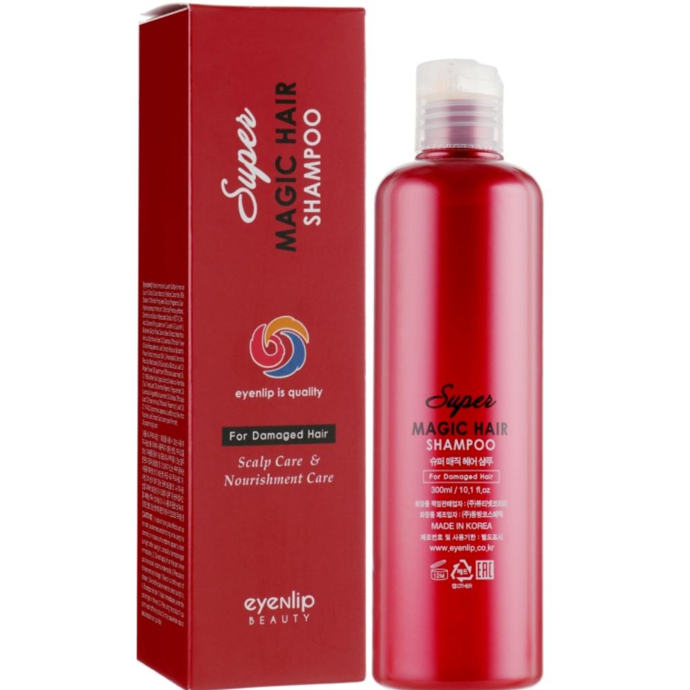 Восстанавливающий питательный шампунь для волос Eyenlip Super Magic Hair Shampoo 300 мл (8809555250838)