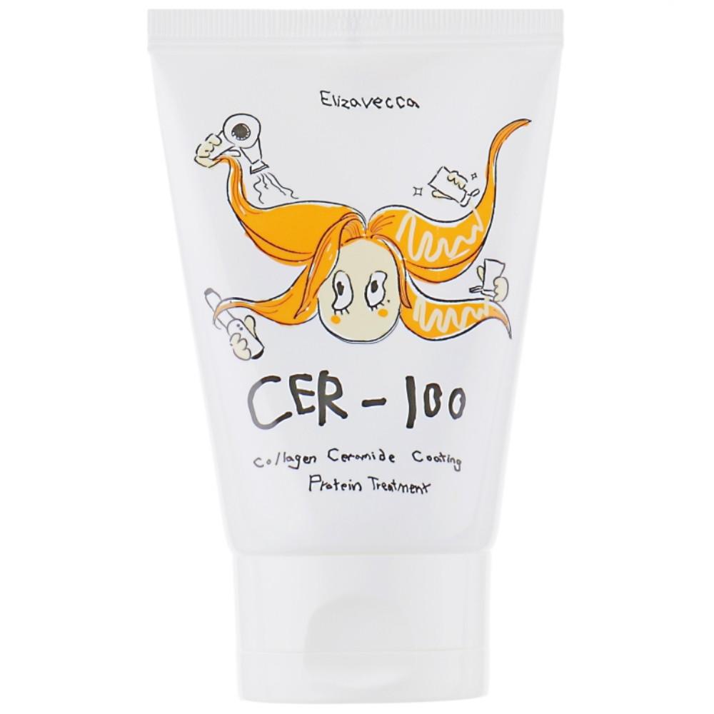 Коллагеновая маска для волос Elizavecca Milky Piggy Collagen Ceramide Coating Protein Treatment 100 мл (8809339903523)