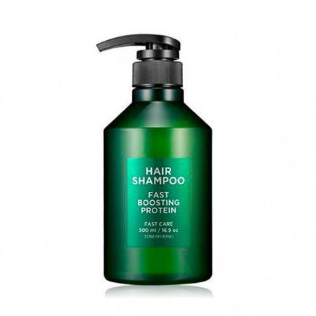 Шампунь для быстрого роста волос Tosowoong Fast Busting Protein Shampoo 500 мл (8809179103459)