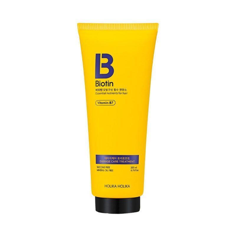 Кондиционер для повреждённых с биотином Holika Holika Biotin Essential Nutrients For Hair 200 мл (8806334372255)
