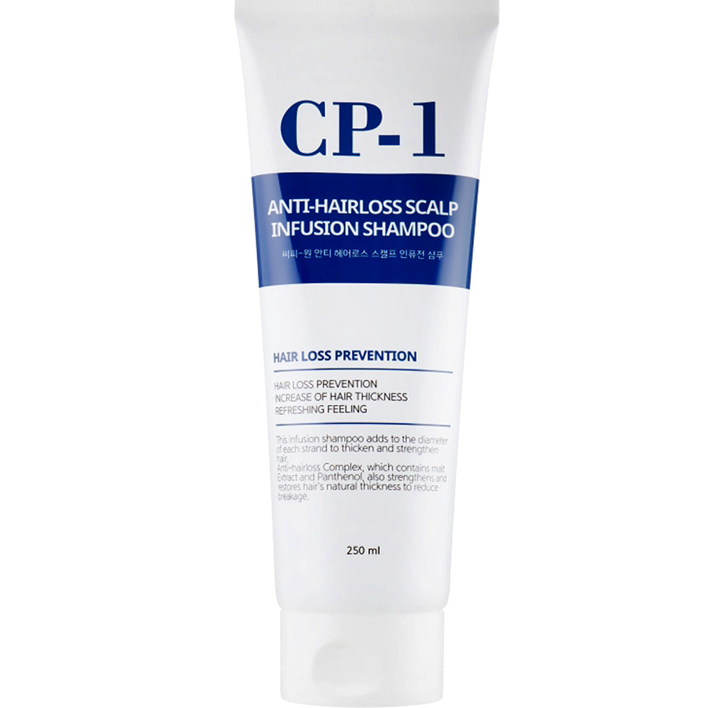 Укрепляющий шампунь от выпадения волос Esthetic House CP-1 Anti-Hairloss Scalp Infusion Shampoo 250 мл (8809450011527)