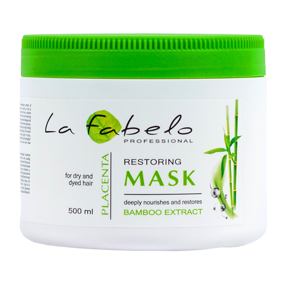 Маска регенерирующая для тонких и слабых волос La Fabelo Premium 01 Regenerating Mask 500 мл (01490101001)