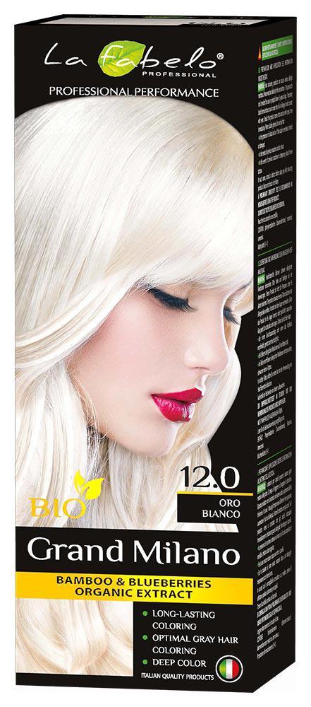 Крем-краска для волос La Fabelo Professional BIO 100 мл тон 12.0 (01490115001)