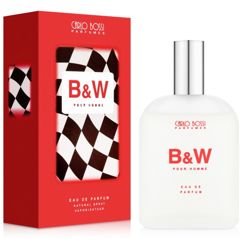 Парфюмерная вода для мужчин Carlo Bossi B&W Red 100 мл (01020202102)