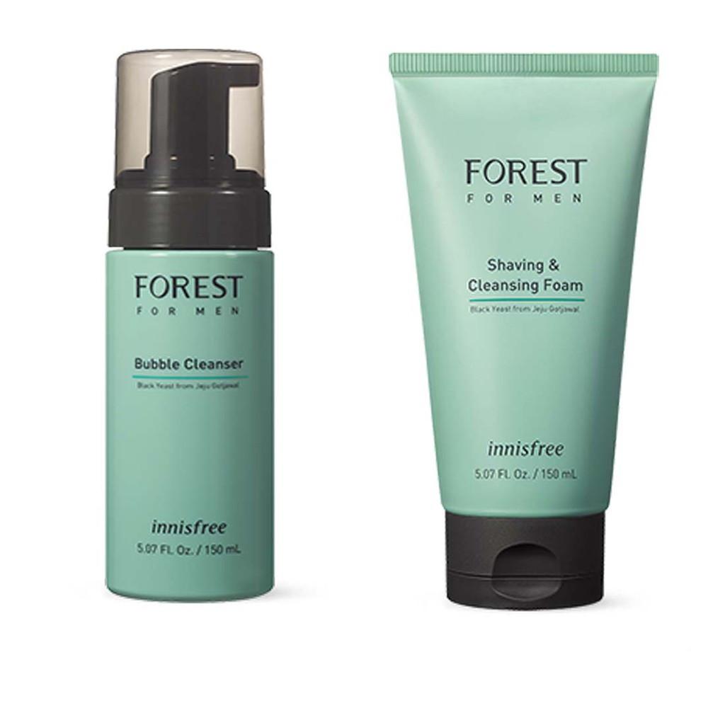 Мужская очищающая пенка для умывания Innisfree Forest For Man Bubble Cleanser 150 мл (8809612858991)