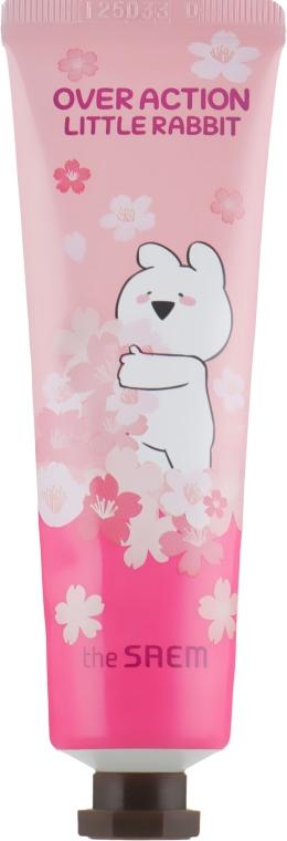 Крем для рук The Saem Over Action Little Rabbit Perfumed Hand Velvet Cream Pink 30 мл (8806164162521)