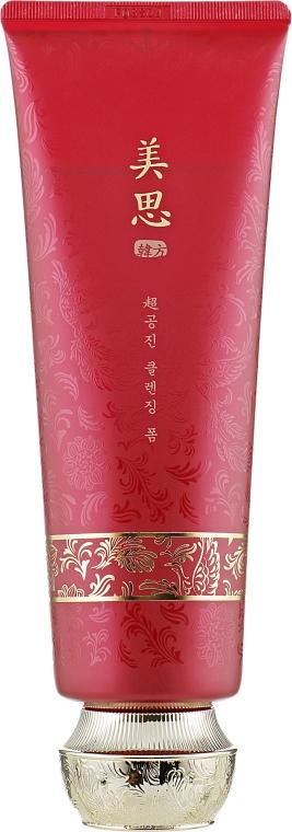 Антивозрастная пенка для умывания на экстрактах восточных трав Missha Misa Cho Gong Jin Cleansing Foam 180 мл (8806185762847)